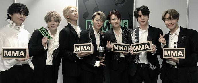 BTS faz história no MMA 2019 ao conquistar 4 daesangs – e 8 prêmios no total!