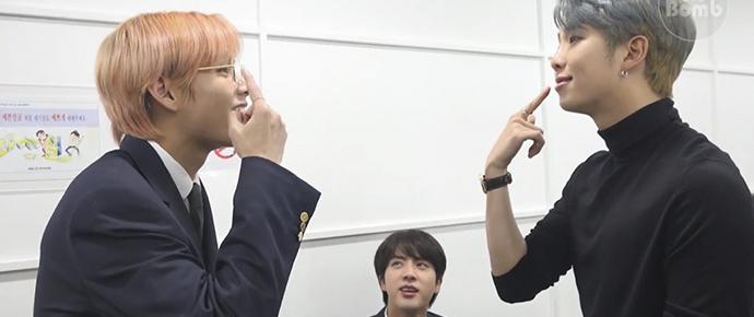 [BANGTAN BOMB] RM, Jin & V se divertindo cantando músicas