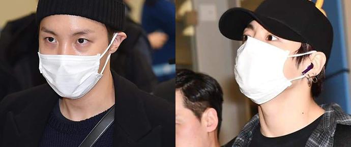 📷 BTS @ Aeroporto de Incheon
