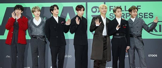 BTS @ Melon Music Awards 2019