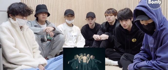 [BANGTAN BOMB] BTS reagindo ao Art Film 'Black Swan'