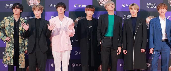 BTS @ Golden Disc Awards 2020
