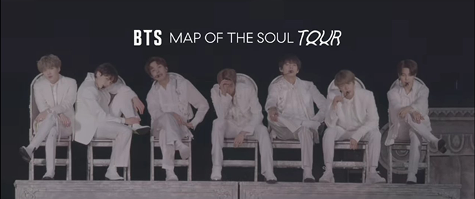 🎥 BTS – Map Of The Soul Tour in Seoul