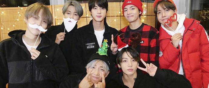 📷 Álbum Especial – BTS Boas Festas 2019