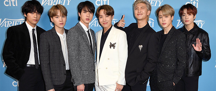 BTS no mundo da arte: estrelas do K-pop colaboram com artistas em projeto global
