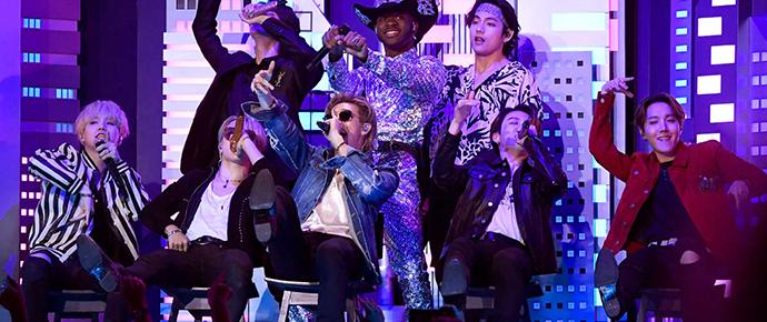 🎥 BTS – 'Old Town Road' (feat. Lil Nas X) @ GRAMMYs 2020
