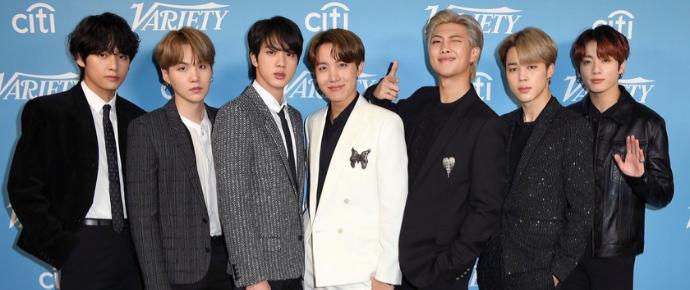 BTS @ Variety Hitmakers Brunch 2019