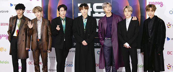 BTS @ SBS Gayo Daejeon 2019