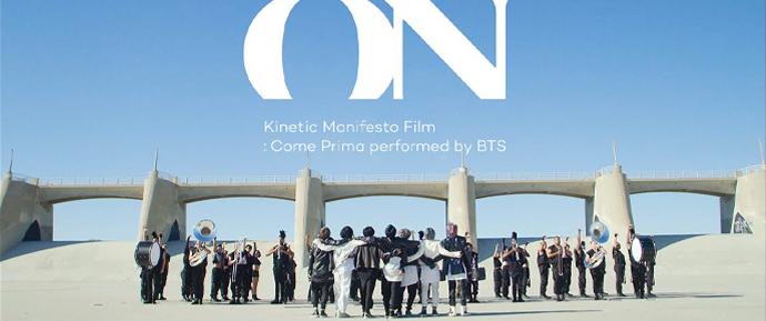 🎥 BTS – 'ON' Kinetic Manifesto Film : Come Prima