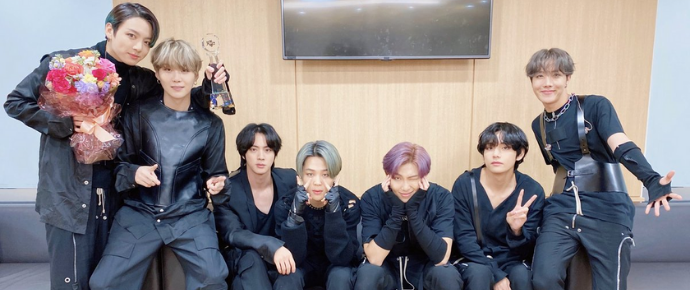 BTS @ Music Bank