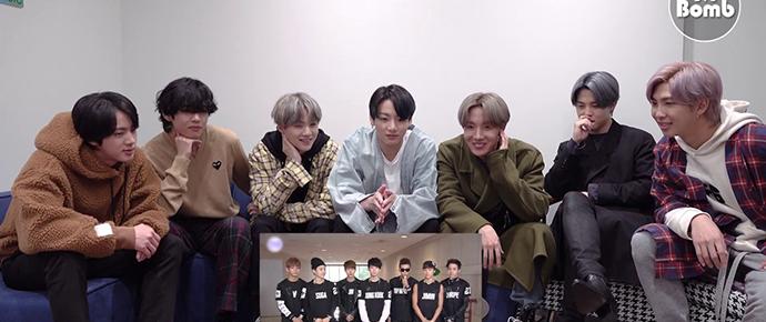 [BANGTAN BOMB] BTS reage ao seu 5º dia de debut
