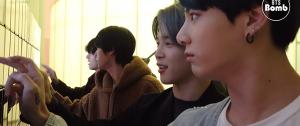 [BANGTAN BOMB] BTS impressionado e se divertindo com o Galaxy Wall