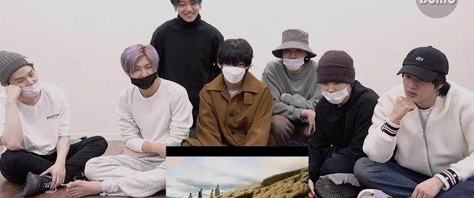 [BANGTAN BOMB] BTS reagindo ao MV de 'ON'