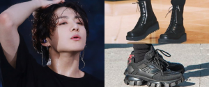"""9 sapatos do JungKook que vão te fazer pensar """"pisa em mim"""" 😳"""