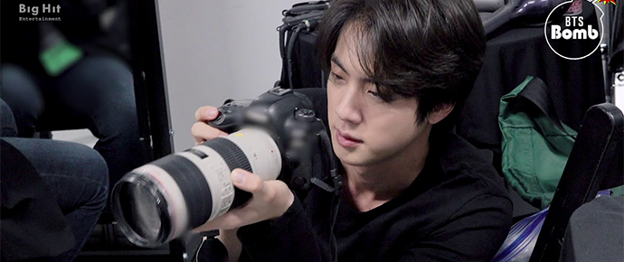 [BANGTAN BOMB] Fotógrafo Jin!