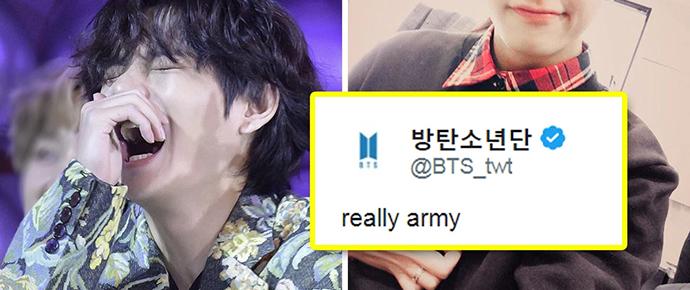 Really, ARMY? Você sabe qual é a história por trás desse famoso tweet do BTS? 🤔