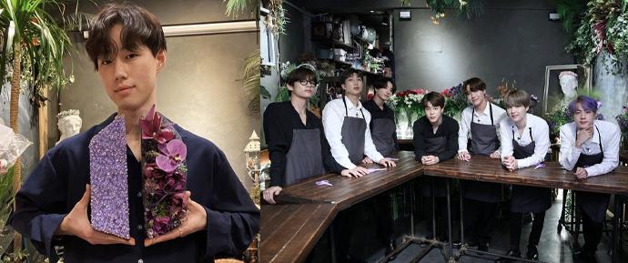 """O florista Isaac fala sobre como foi gravar com o BTS: """"Acolhem a todos sem perder a humildade"""""""