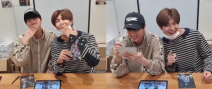 [V APP] 24.05.20 – RM & Jin (RJRJ + EAT Jin)