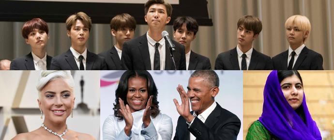 BTS se junta a Obama, Malala e Lady Gaga em homenagem aos formandos de 2020! 🎓