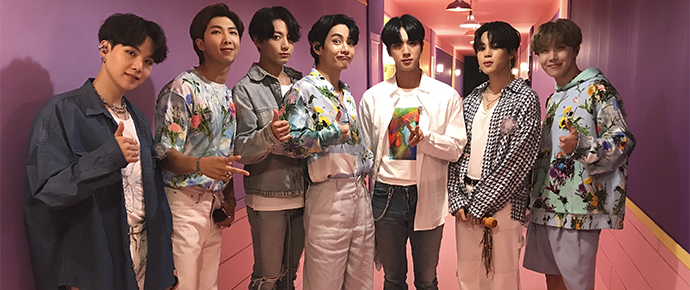 O BTS conquistou um novo recorde mundial do Guinness com a Bang Bang Con: The Live!