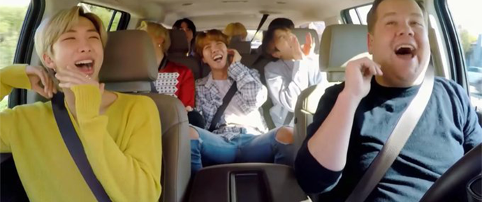 🎥  BTS @ Carpool Karaoke (Clipe Bônus)
