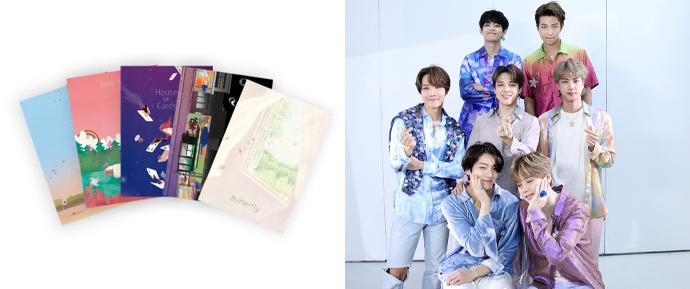 BTS anuncia o lançamento de Graphic Lyrics, a série de livros inspirada em suas músicas