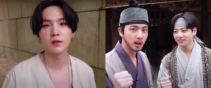 SUGA explica o conceito de 'Daechwita' e fala sobre a participação de Jin e JungKook no MV