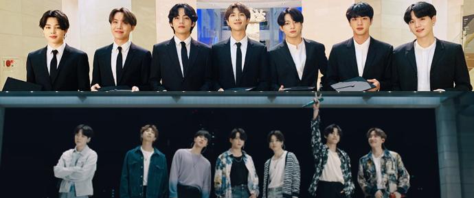 O discurso do BTS para o Dear Class Of 2020 vai te encher de esperança 💜