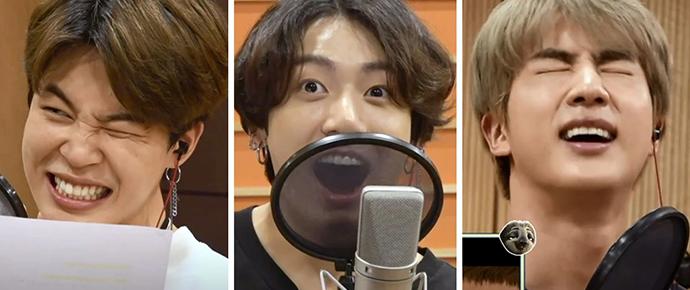 O BTS estava pronto para estrangular uma preguiça – e ninguém pode culpá-los! 😂