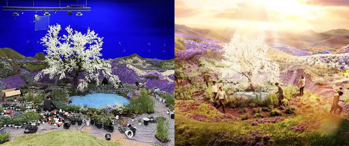 O cenário mágico do MV de 'Stay Gold' é REAL e foi construído do zero! 😱