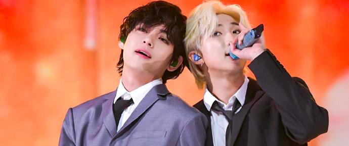 V e RM quebram incríveis recordes globais no iTunes com 'Sweet Night' e 'mono.' 😱