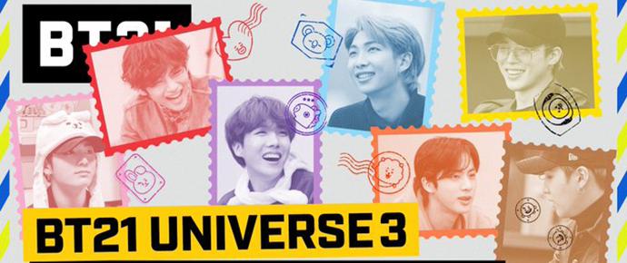 🎥 BT21 UNIVERSE 3 – Mensagem paternal