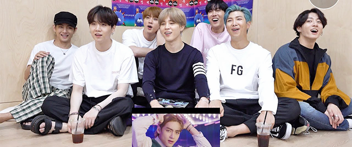 [BANGTAN BOMB] BTS reagindo ao MV de 'Dynamite'