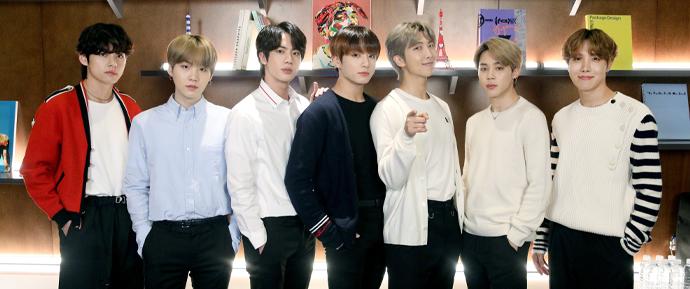 O BTS é parte da exposição artística online 'do it (around the world)' 🎨