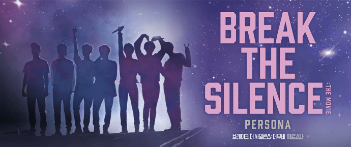 O BTS volta aos cinemas com o seu quarto filme 'Break The Silence: The Movie'! 💜