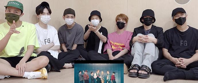 [BANGTAN BOMB] BTS reagindo ao MV de 'Dynamite' (B-Side)