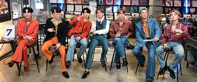 BTS @ Tiny Desk Concert