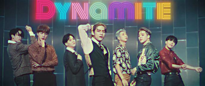 🎥 BTS – 'Dynamite' ('70s remix) MV