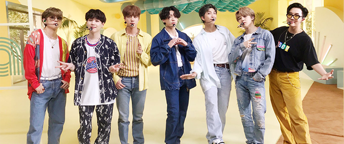 BTS @ The Music Day Festival