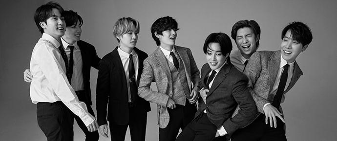 BTS x GQ Japan