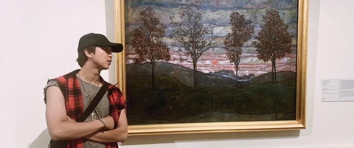 RM fez uma doação de 100 milhões de won dedicados à arte no seu aniversário! ❤️