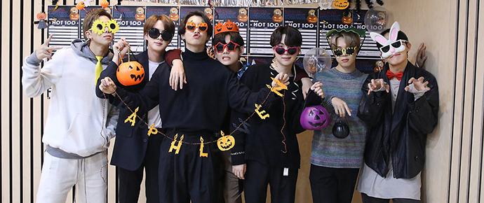 📷 Álbum Especial – Halloween 2020 com o BTS