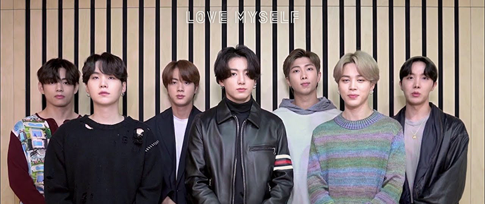 🎥 Mensagem do BTS para o 3º aniversário da campanha Love Myself