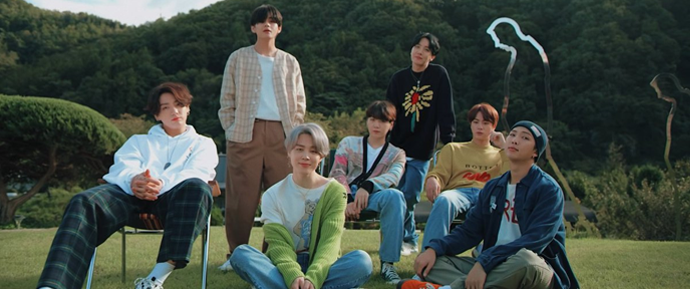 🎥 BTS – 'Life Goes On' Official MV : in the forest