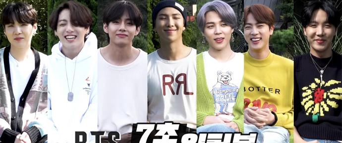 🎥 Entrevista de 7 segundos com o BTS