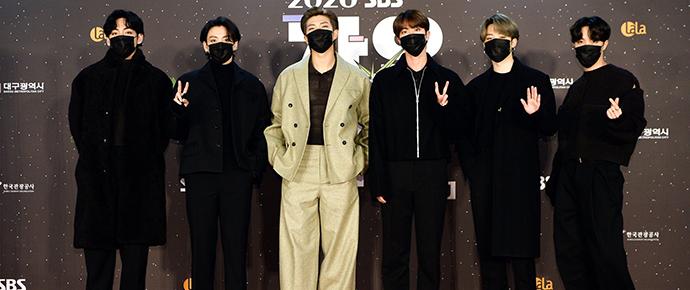 BTS @ SBS Gayo Daejeon 2020