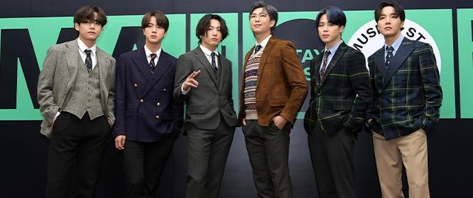 BTS @ Melon Music Awards 2020