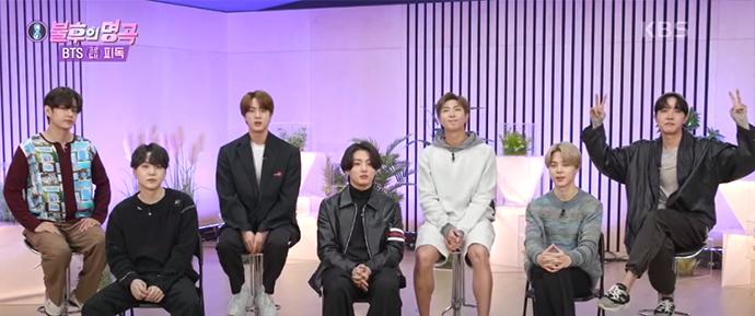 BTS compartilha as histórias de suas músicas no programa Immortal Songs!