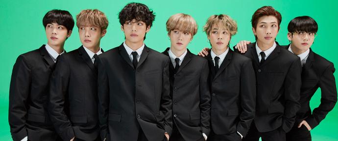O BTS é eleito como a 'Banda do Ano' de 2020 pela Consequence of Sound!