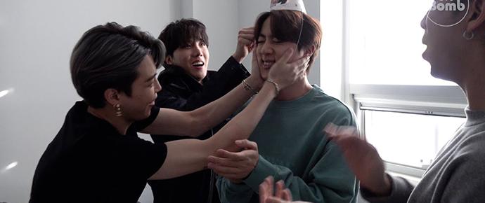 [BANGTAN BOMB] Feliz Aniversário Jin